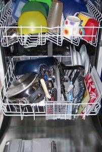 How to Remove Mold & Mildew From the Interior of a Dishwasher Over 60% of refridgerators found to harbir dangerous fungus that can cause lung problems and skin disease. This article tells you how to get rid of it! I would add a drop or two of Thieves or lemon essential oil to every load!