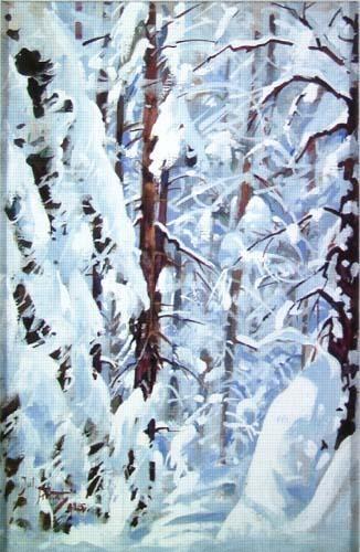 Julian Falat, Forest in the winter