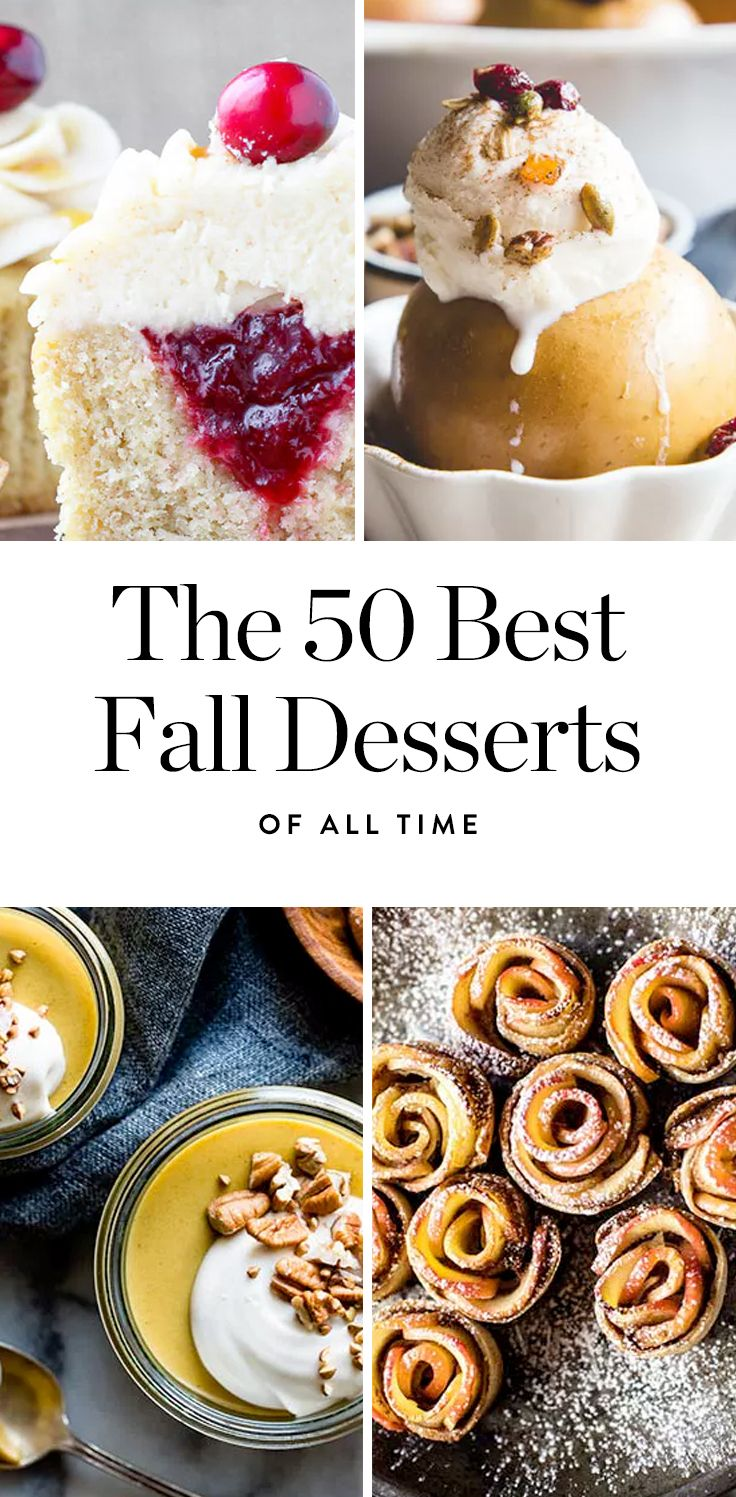 The 50 Best Fall Desserts of All Time, Hands Down, No Contest via @PureWow