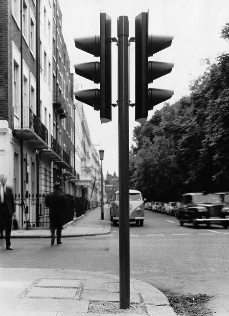 David Mellor UK Traffic Light Prototype, 1960s.