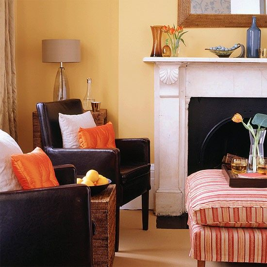 Bright Orange Living Room Accessories: 22 Best Images About Apartment Decor On Pinterest