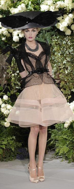 Dior fall 09 Haute Couture