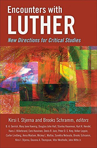 Encounters with Luther: New Directions for Critical Studies:   <p><i>Encounters with Luther</i> offers in one volume original primary research from an international and ecumenical pool of scholars. It examines Luther and Lutheran theological traditions along with their historical foundations and with a focus on relevant contemporary issues and ecumenical collegiality. Topics range from sacraments and marriage to violence and gender and sexuality to spiritual care, politics, and sufferi...