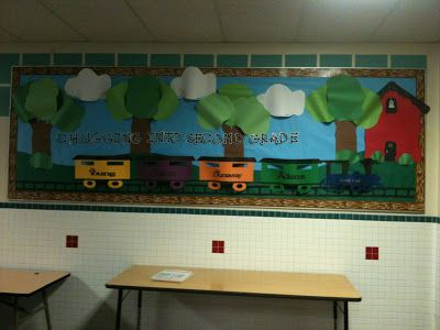 back to school bulletin board ideas | ... surfing back to school wild about second grade sailing back to school