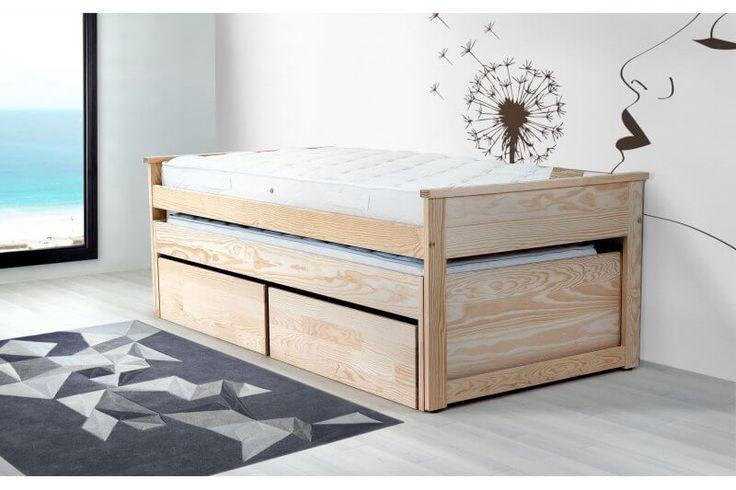 Les 126 meilleures images propos de lit gigogne sur pinterest - Lit gigogne confortable ...