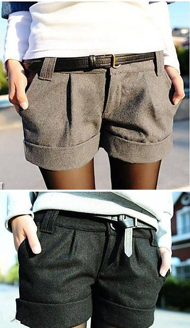 cute shorts - didn't realize they were plus size. The look is nice though just not this link.