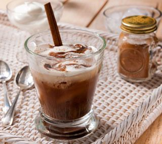 Iced Mexican-style Coffee: Rich coffee, served ice-cold and decadently ...