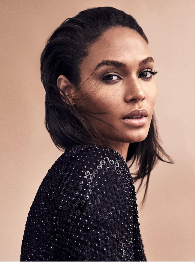 Shades of Beige: Joan Smalls Covers Harper's Bazaar Germany November 2016 Issue | Fashnberry