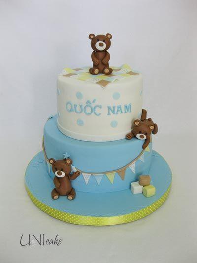 C217. Nalle-kakku. Bear cake