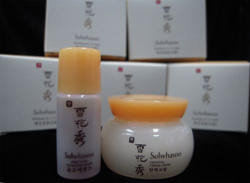 Sulwhasoo Renewing Kit First Care Activating Serum+Essential Firming Cream New ☆
