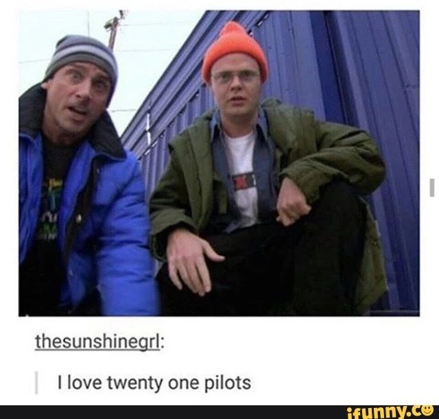 The office/ TØP crossover