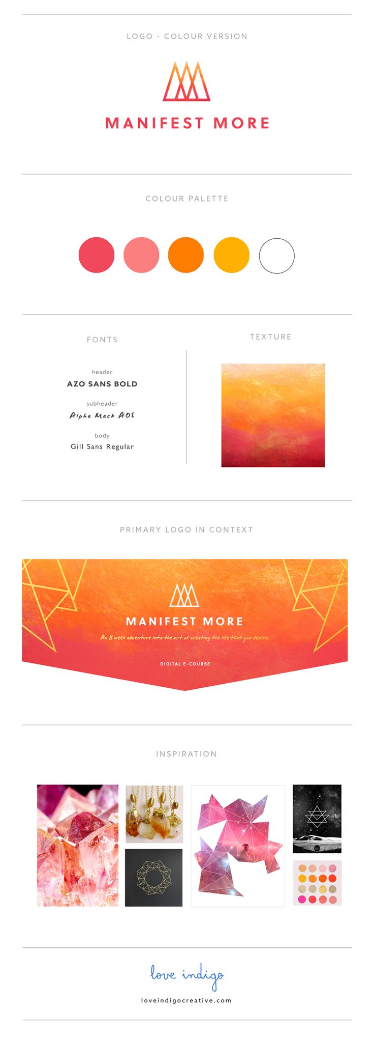 Manifiest More Brand Guide - Love Indigo Creative