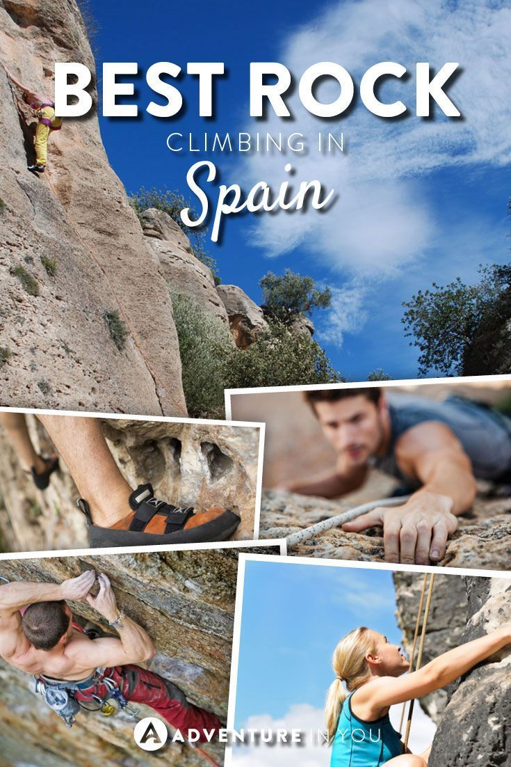 Rock Climbing Spain | Looking for fun activities to do in Spain? Check out these rock climbing holidays around the area.