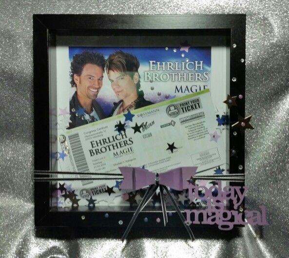 Ribba Rahmen gestaltet  Ticket für die Ehrlich Brothers   Blog.rhöntorte.de
