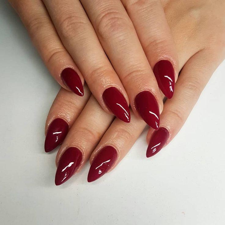 #nails#hobby#work#prettynails#rednails#indigolovers#indigo ...