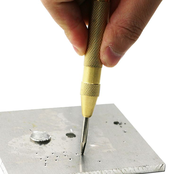 5 pulgadas center automática pin ponche con resorte marcado partir agujero heces submarino expreso de alta calidad
