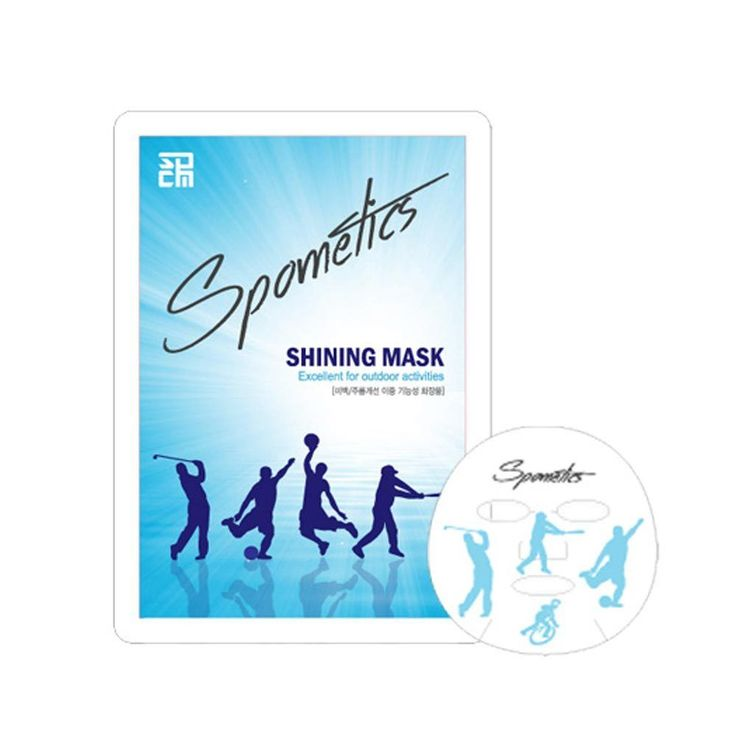 Spometics Shining Mask 25ml * 10ea #Spometics