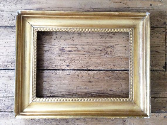 C19th Gesso Picture Frame Antique Picture Frame by MyQuirkyCottage $145 us