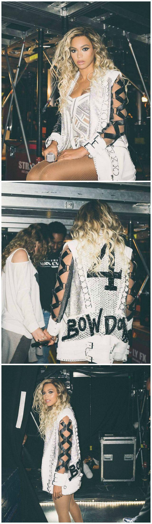 Beyoncé shows off Versace tour costumes -Cosmopolitan.co.uk