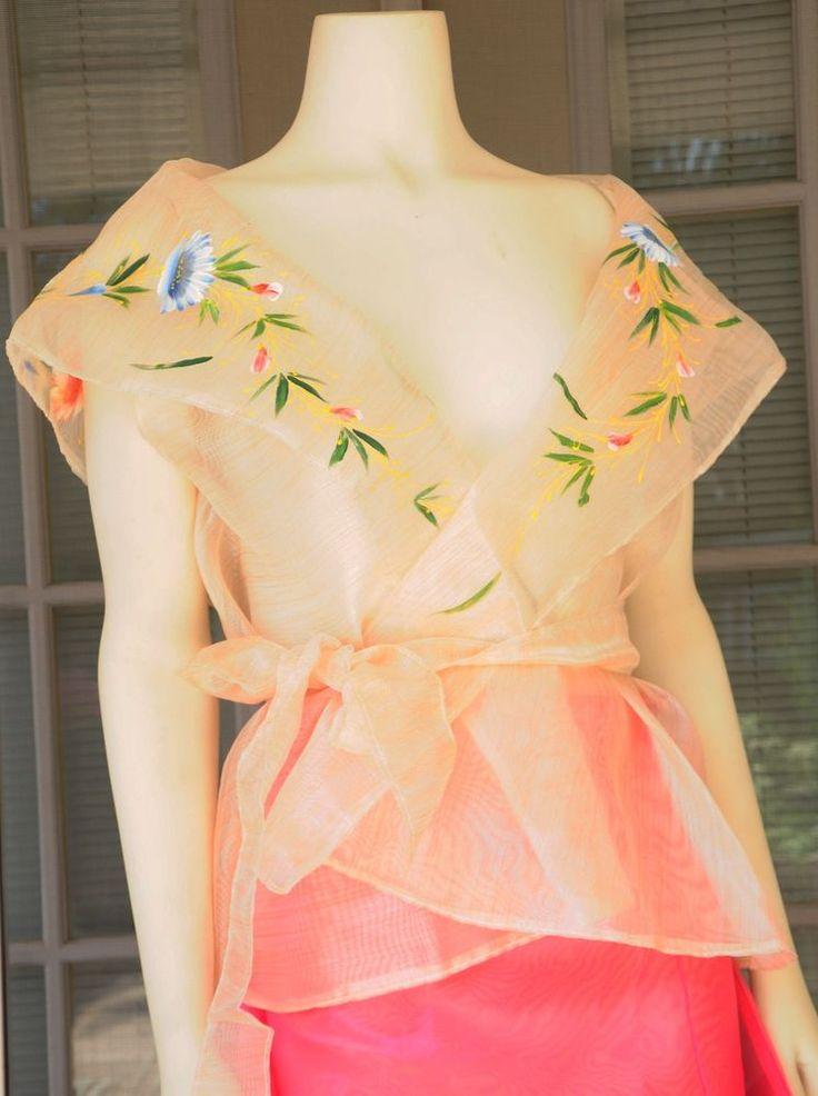 12 Best Filipiniana Dress Images On Pinterest