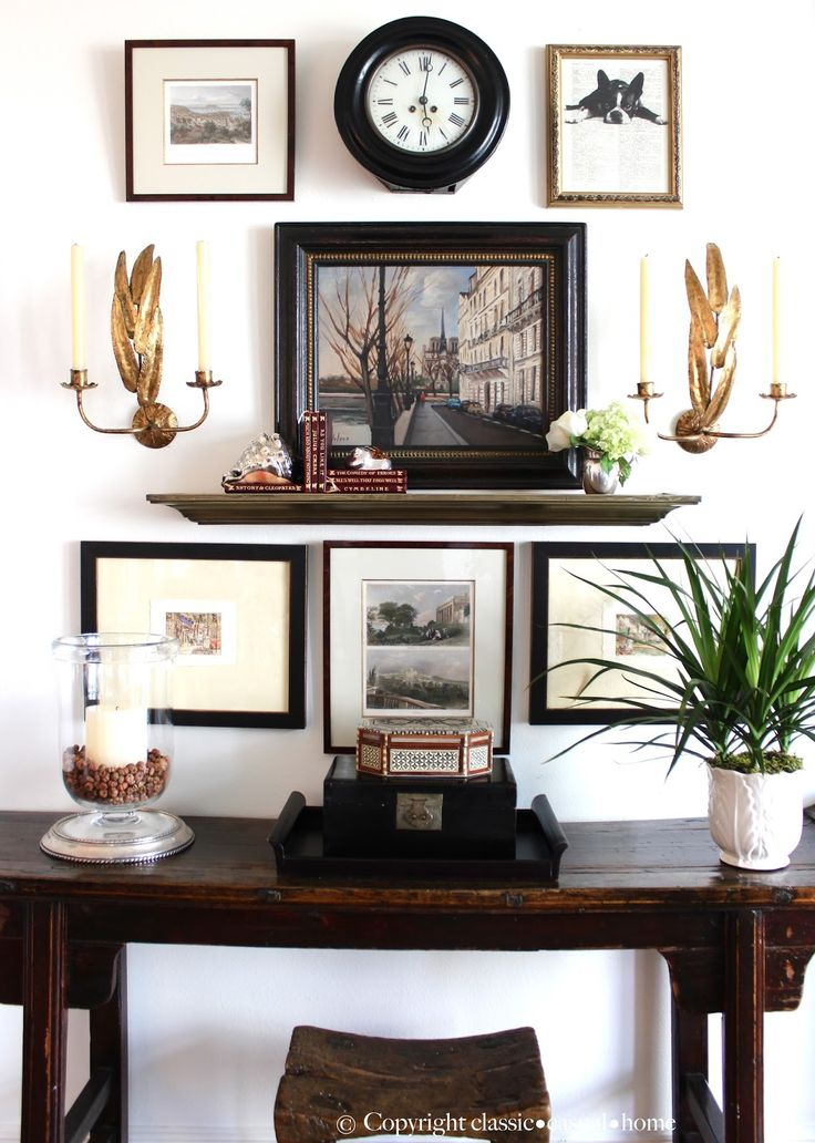 Project Design Vintage Gallery Wall Completed