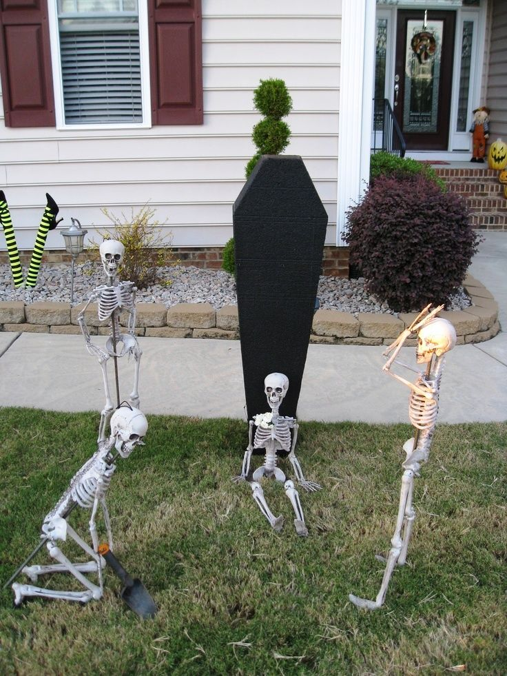 20 cool halloween decorations for apartments - Unusual Halloween Decorations