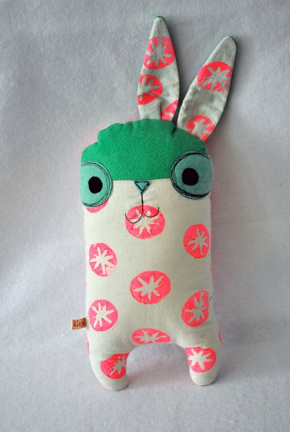 I love this little thing by Kleja. $35 - Maybe make this design for the fingers 4 legs puppets