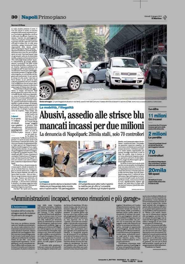 Abusivi, assedio alle strisce blu mancati incassi per due milioni