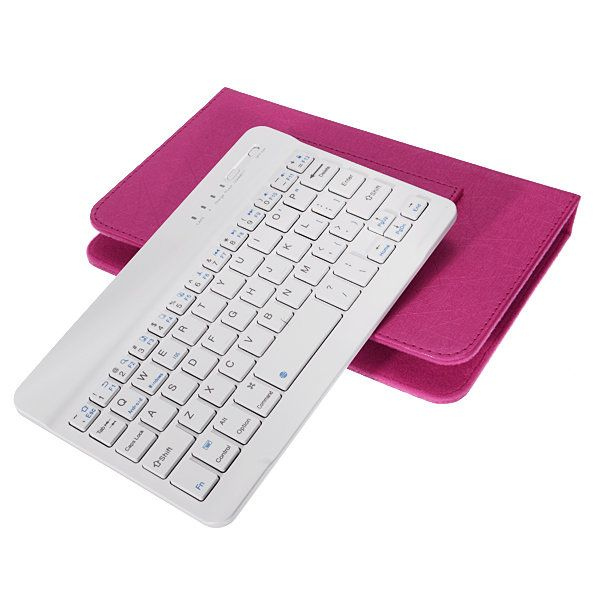 Adjustable Buckle Wireless Bluetooth Keyboard Flip Holster Case for Samsung S6/S7 iPhone 6/6s Sale - Banggood.com  #smartphones #cellphones #mobile #accessories