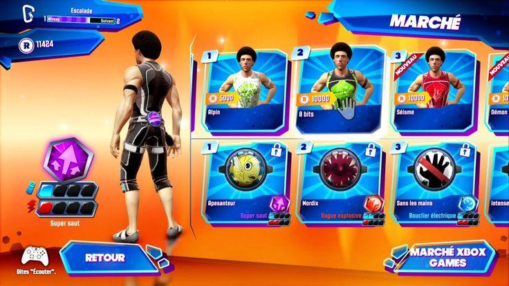 Image Kinect Sports Rivals Xbox One - 23 - KSR propose une progression avec ses niveaux, ses fans, ses équipements et ses nombreuses tenues.