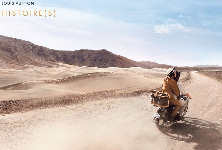 Take to the skies, free as the wind. With your head in the clouds, picture the wonders of the world, then – your feet firmly on the ground – set out to discover them. Louis Vuitton celebrates today's travelers with Histoire(s). #TravelTuesday