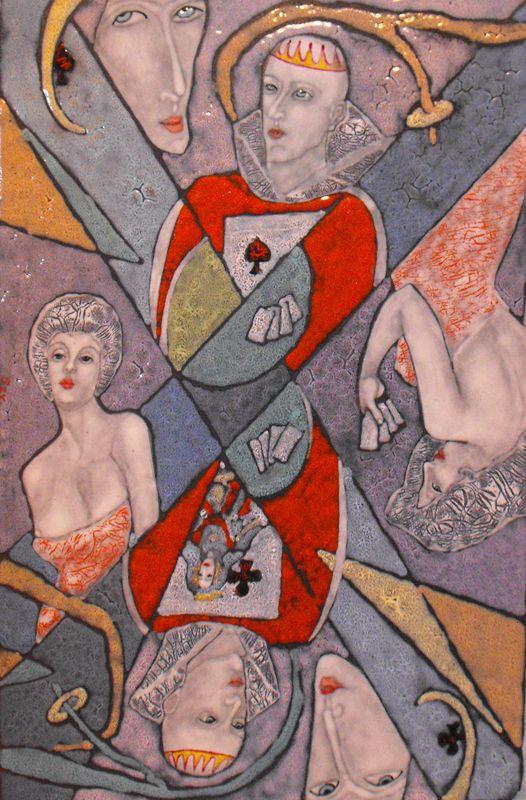 FÉNYMORZSÁK – A Tűzzománcművészek Magyar Társasága országos, csoportos kiállítása : Erdős Renée Ház Tóth Szvetlána