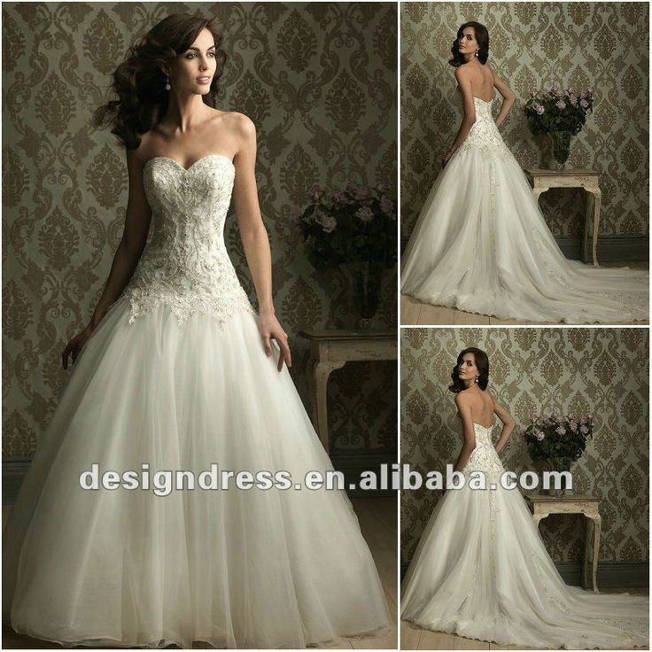17 Best images about ivory wedding dresses on Pinterest | A line ...