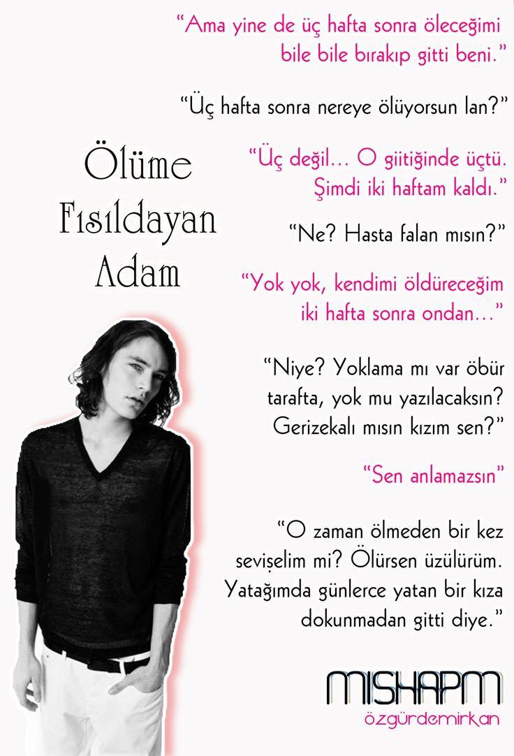 Wattpad Türkiye,  Hikaye: Ölüme Fısıldayan Adam  Yazar: MishaPM  Karakter: Anıl