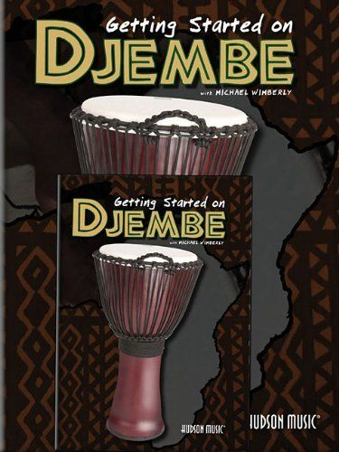How to Play Djembe - Getting Started on Djembe DVD/Book. Interest in hand drumming is on the rise, and this book/DVD pack will get beginning djembe players up and running quickly with everything you need to know, while still providing accurate and educationally correct information about the traditions and techniques of the djembe. #djembe http://www.djembelessons.com