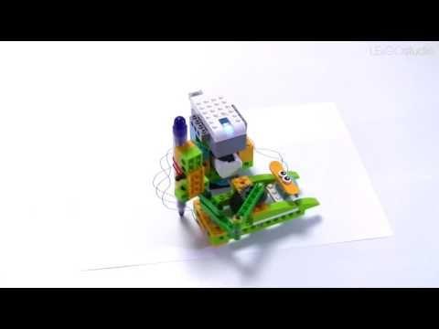 WeDo Spirograph : LEGO WeDo - YouTube