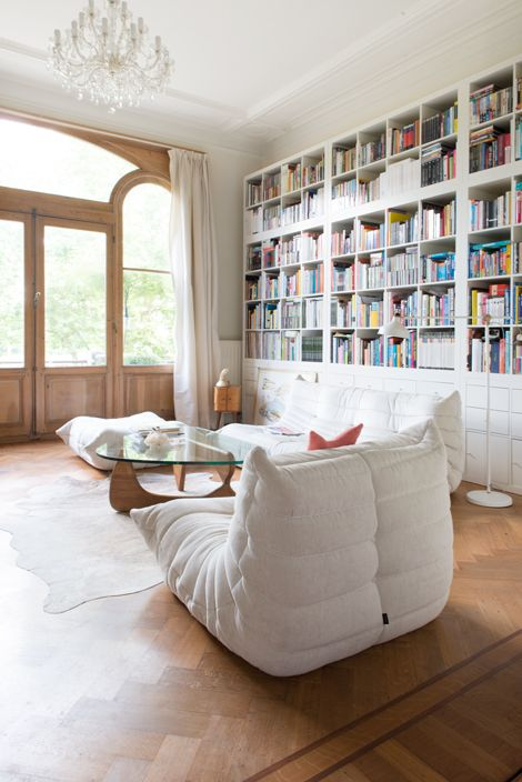 17 best images about living spaces on pinterest house - Salon togo ligne roset ...