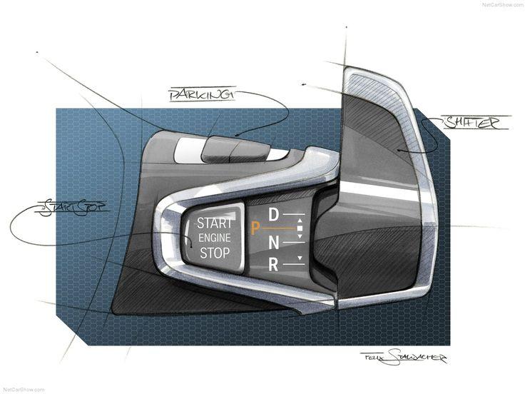 BMW i3's brilliant new column shifter