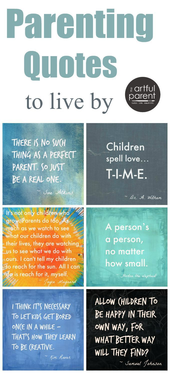 See more inspirational parenting quotes when you follow me on - The Best Parenting Quotes For Parents To Live By