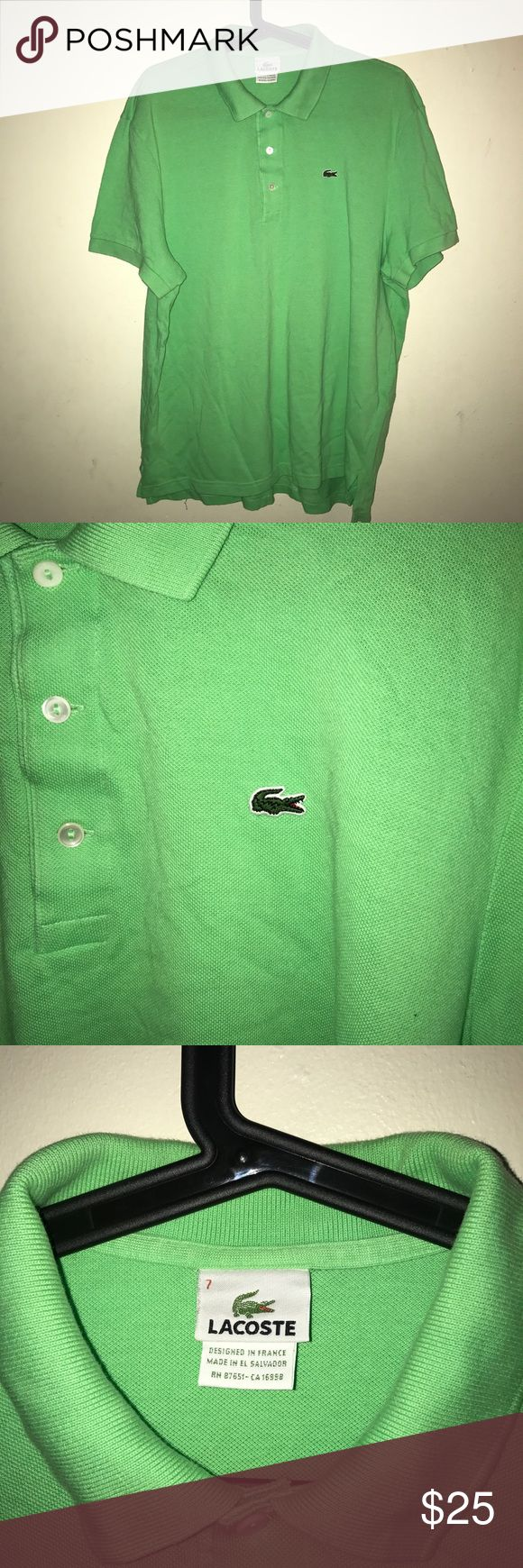 Lacoste polo shirt Lacoste polo shirt in great condition Lacoste Shirts Polos
