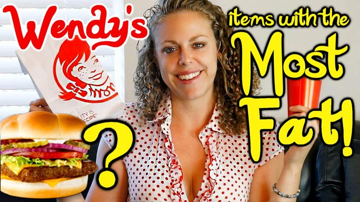 #Shocking #Amounts of #Fat in #Wendy's #Hamburgers! #Worst #Foods on the #Menu! #Health & #WeightLoss #Tips