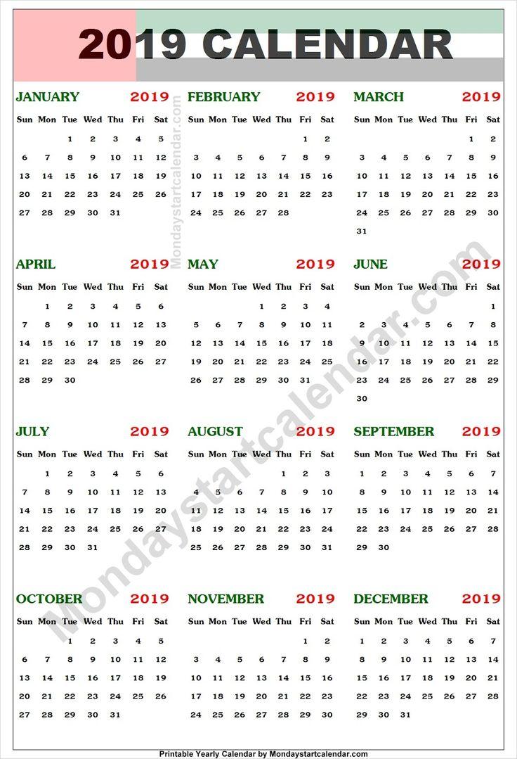 uae calendar 2019 with holidays