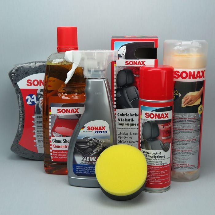 Bilplejeprodukter fra Sonax! Pjeleprodukter i den bedste kvalitet til bilen. Stort udvalg af både lakforsegler mm.