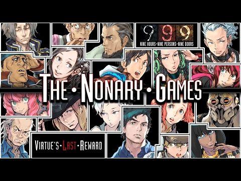 Srep Games Media - Zero Escape: The Nonary Games ya disponible en Steam y PlayStation 4.