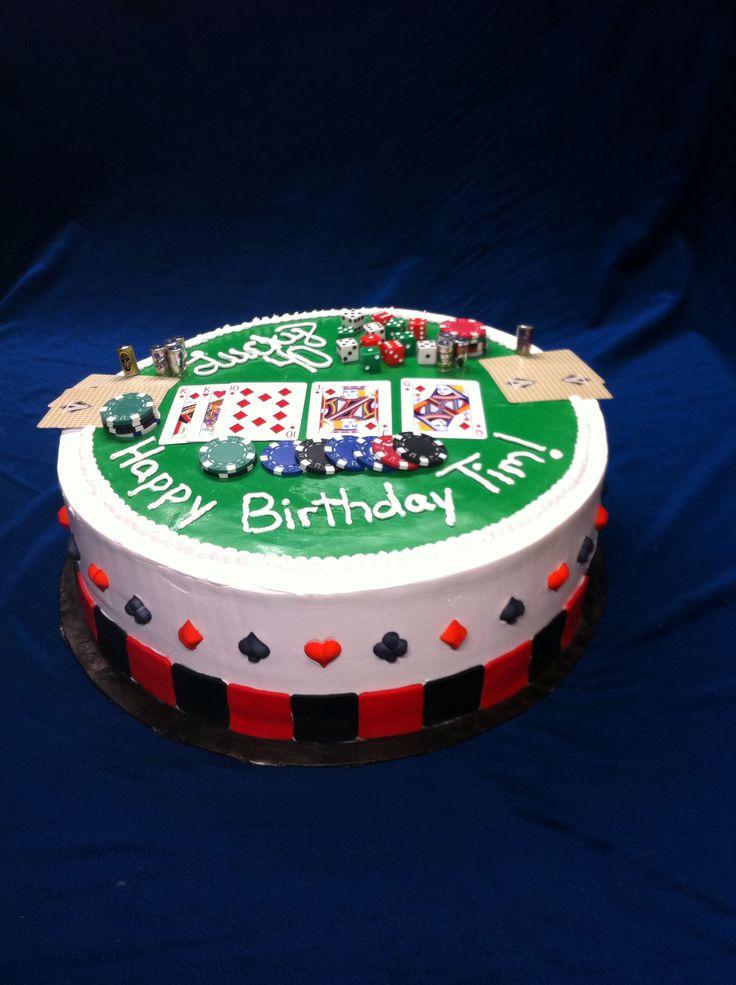 14 Best Poker Themed Cakes Images On Pinterest Poker Cake Themed Cakes And Cake Art