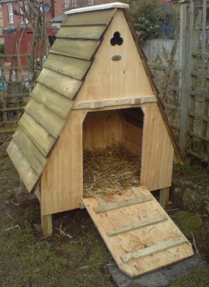 simple but elegant design for a duck home