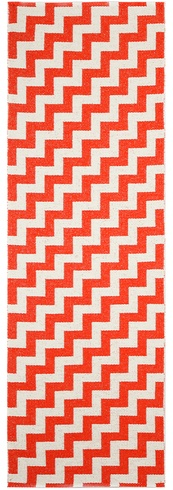 Love the direction of the chevrons in this chevron runner!