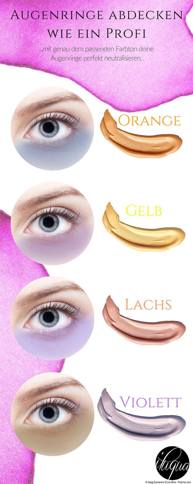 Learn how to cover your dark circles like a pro, which concealer colors perfectly neutralize your discoloration and which technique is the best.