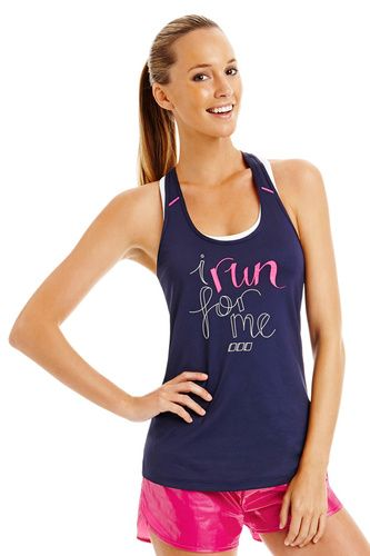 Run For Me Mesh Tank - I must have