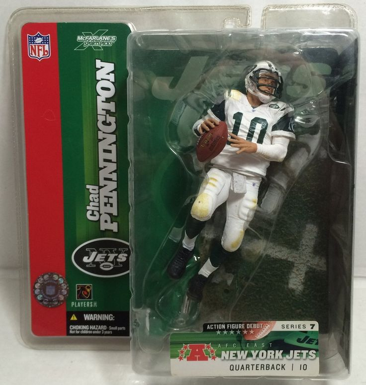 (TAS010675) - McFarlane Toys NFL - Chad Pennington - Jets